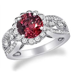 Carat (ctw) White Gold Round Blue And White Diamond Ladies 5 Stone Bridal Engagement Ring Matching Band Set CT (Size - Top Drawer Jewelry Ruby Wedding Rings, Wedding Rings Solitaire, Gemstone Engagement Rings, Wedding Rings Vintage, Engagement Jewelry, Wedding Jewelry, Ruby Jewelry, Gemstone Jewelry, Jewelry Rings