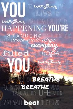 You Are Everything by Matthew West