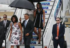 The Obama Women's Top 6 Fashion Moments From That Historic Trip to Cuba