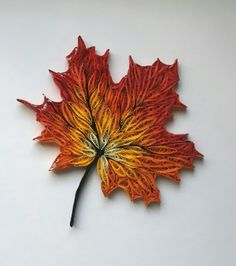 Quilling..leaves..