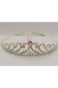 Gorgeous Rhinestone Pageant Tiara F Birthday Dresses, Pageant, Crown, Jewelry, Fashion, Moda, Corona, Jewlery, Bijoux