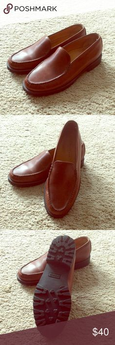 Cole Haan Country Classic Loafers, Size 9B Cole Haan Country brown (saddle) leather loafers in size 9B.  Classic style, nearly new condition, bottoms show no sign of wear.  Smoke and pet free home. Cole Haan Shoes Flats & Loafers