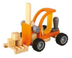tractor juguete madera