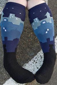 Cityscape Socks