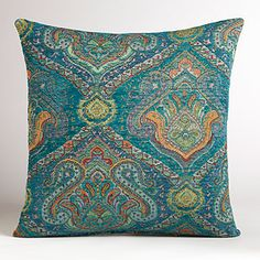 Garnet Jacquard Venetian Pillow | World Market - LOVE pillows