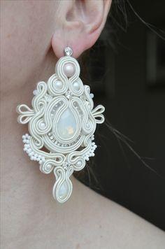Сутажные серьги купить украшение, длинные серьги, подарок для девушки, серьги, бижутерия, soutache Wedding Jewelry, Diy Jewelry, Jewelery, Jewelry Accessories, Handmade Jewelry, Unique Jewelry, Soutache Earrings, Drop Earrings, Earring Trends