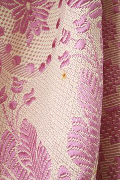Radiant Orchid Italian Tapestry Bedding by boxofhollyhocks on Etsy
