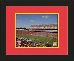 One framed 8 x 10 inch University of Maryland photo of Comcast Center, double matted in team colors to 11 x 14 inches.  $39.99 @ ArtandMore.com