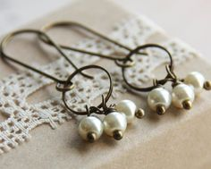 DIY wire bead earring ideas