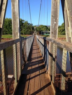 Hanapepe Swinging Bridge - Hanapepe, Kauai (beautiful, serene views)