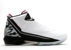 Air Jordan 22 Chaussures White Black