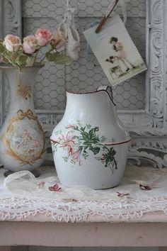French Printed enamelware|Tumblr