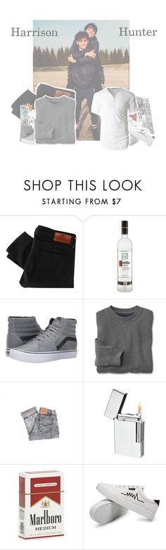 """""""Feels with me X Calvin Harris"""" by fxntxsy-anxns ❤ liked on Polyvore featuring Maison Scotch, Vans, Levi's, Visol, LE3NO, men's fashion and menswear"""