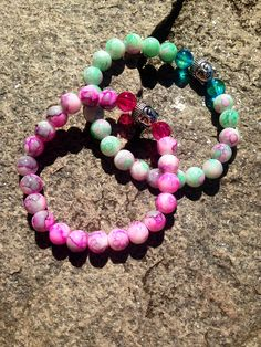 #FriendshipBracelets #BraceletsForFun #BraceletsLucky #BraceletsForAbundance #BraceletsOfLove #BraceletsForYou #Pink #DarkPink #Buddha #Beads #Violet #BuddhaStyle #green #turquoise https://www.facebook.com/ensistore