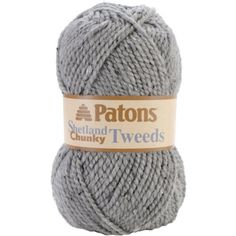 Spinrite Shetland Chunky Yarn Tweeds Pewter -- Click image to review more details.Note:It is affiliate link to Amazon. #follow