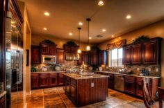 shea model home kitchen cabinets