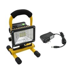 You are in right shop! We now put forward a 24 LED Flood Lights Portable Magnetica Work Rechargeable Lamp for you. This flood light is made of high quality material, durable and sturdy for you to use. Work with high capacity detachable 18650 battery, it can lit for 3-4 hours constantly when fully charged. It is energy-saving and eco-friendly for long-term use. With stand bracket, it is easy assemble with the light together and better adjusting the beam angle. You should choose it at once.