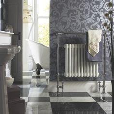 Kudox Victoria Maxi Towel Warmer Chrome, (W)800 x (H)952mm,