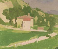 Giorgio Morandi (Italian, 1890-1964), Paesaggio, 1935. Oil on canvas, 60.2 x 71 cm.