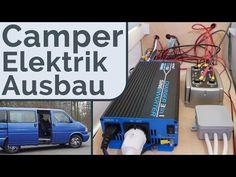 VW T4 Camper 12V Bord Elektrik - DIY Ausbau Camping Bus - YouTube T4 Vw, Vw T4 Camper, Vw T3 Syncro, Minivan, Camping Gear, Outdoor Camping, Van Home, Campervan, Motorhome