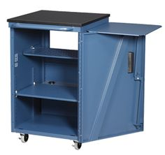 Economy Media Cart™ by Datum - Storage for audio/visual equipment on a budget.