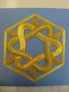 EMBROIDERY GOLD WORK.............PC.......007