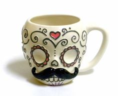 Sugar Skull with Mustache Ceramic Coffee Mug by One Hundr... https://www.amazon.com.mx/dp/B00CEJQ80G/ref=cm_sw_r_pi_dp_x_6KJgyb244E6NG