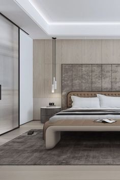 The Ultimate Luxury Interior Bedroom Designs Using Neutral Pallets Trick 38 - homeuntold Modern Master Bedroom, Modern Bedroom Design, Minimalist Bedroom, Contemporary Bedroom, Home Bedroom, Bedroom Beach, Bedroom Designs, Kids Bedroom, Master Master