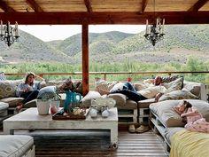 'n Ekovriendelike huis in 'n sielvolle Karoo-vallei