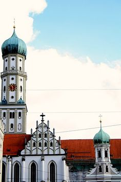 I spent around three months in Augsburg Germany.  I love this city!!