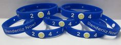 Bracelets were designed for Ariix (Slenderiiz Now).  Tracker button has their logo printed on it.  These bracelets track weight loss: 2  4  6  8  10.  We can customized any goals: days, weeks, months, years, miles, kilometers, lbs, kilograms, ranks, purchases, rewards, etc. View our Patent Pending Bracelets at: www.poundpuncher.com
