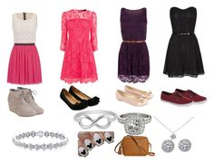 """""""First date"""" by jelena4life2015 on Polyvore featuring Tiffany & Co., GiGi New York, Vans, WearAll, Allurez, Monsoon, TOMS, maurices, Jewel Exclusive and Karen Millen"""