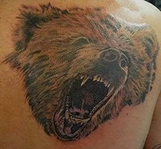 4f1853698 42 best Angry Bear 3d Tattoos images in 2017 | Bear tattoos, Angry ...