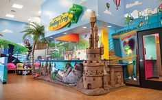 Beach Themed pediatric dental office by Imagination Dental Solutions