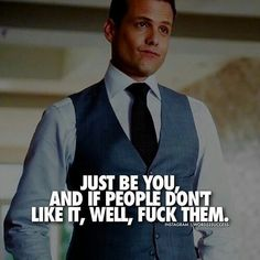 "TV show. ""Suits"". Harvey Specter quotes. great suit style."