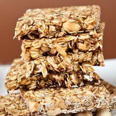 salty peanut granola bars