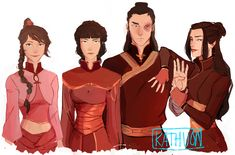 kathuon:  Old Friends  Part one of: Firenation Here We Come
