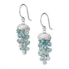 JELLYFISH EARRINGS | Silver Jewelry, Sea Urchin, Fish | UncommonGoods