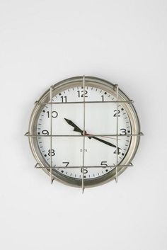 Check out the by Three Potato Four PE Clock in Clocks, Office Accessories from Urban Outfitters for Clock With Seconds, Popsugar, Industrial Clocks, Vintage Industrial, Filter, Kitchen Clocks, Apartment Essentials, Office Accessories, Old School