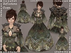 Second Life Marketplace - Reflections Gown by Caverna Obscura