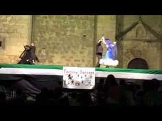 Angelines Gómez - Factory Dancers Actuación Miajadas 4-8-2014 Vals
