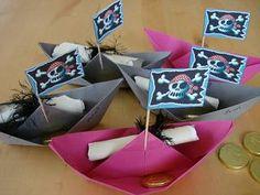 Katis kreative Ecke: Piratengeburtstag -Einladungen #invitation #pirate #party