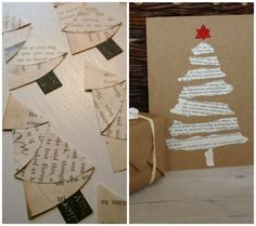 17 Wonderful Christmas Cards You Can Make In Just 30 Minutes - NiftyRead Christmas Cards To Make, Christmas Mood, Christmas Images, Christmas Projects, Xmas Cards, Snowman Cards, 242, Colorful Christmas Tree, Card Making