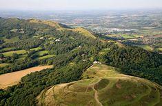 Malvern Hills, can't beat a brisk walk up the Malverns before Sunday lunch...