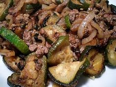 Ground Beef, Zucchini, and Onion Skillet | fastPaleo Primal and Paleo Diet Recipes - recommended