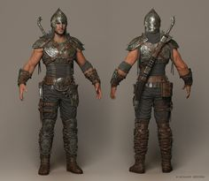 Faris Cinematic Character by Mohamed Abdelfatah   Fantasy   3D   CGSociety