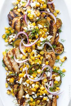 Grilled Chicken and Summer Vegetables