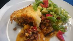 Shepherds pie with Gardein Crumbles Lasagna, Food And Drink, Homemade, Vegan, Chicken, Dinner, Ethnic Recipes, Pie, Plant