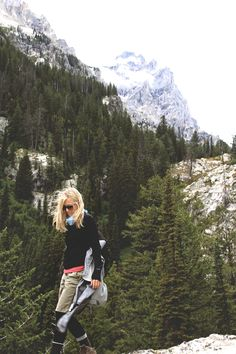 takemetomountains:  Grand Tetons | gear  she is strong. rad. and beautiful. — Elle.