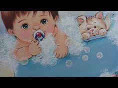 Como pintar bolhas de sabão.pinturas baby Márcia - YouTube